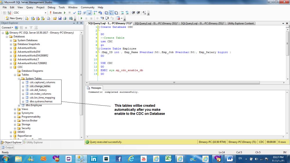 Change data capture (CDC) in SQL Server 2008 (1/6)