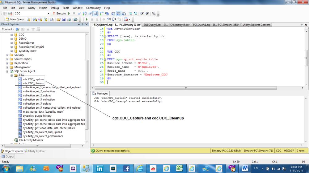 Change data capture (CDC) in SQL Server 2008 (2/6)