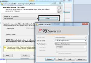 Select Witness Server