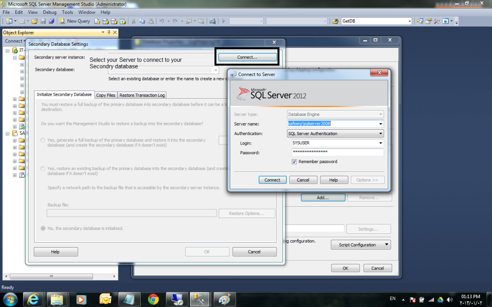 Log Shipping in SQL Server 2008R2 Step by Step (6/6)