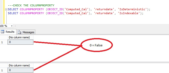 How Can i Create index on Non-Deterministic Column in SQL Server (3/4)