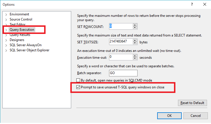 What is New in SQL Server 2016 Management Studio (2/6)