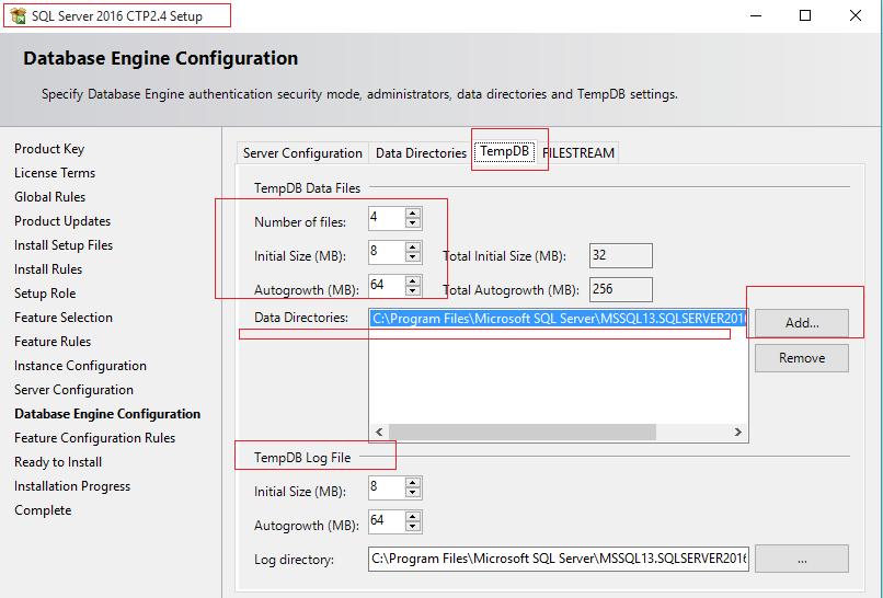 New TempDB Configuration in SQL Server 2016 (2/2)
