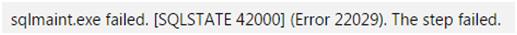 SQL Server Transaction Log Backup Failing (Error 22029) (1/2)